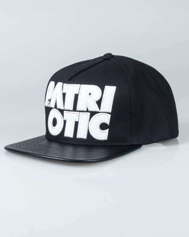 PATRIOTIC SNAPBACK CLS LEATHER BLACK