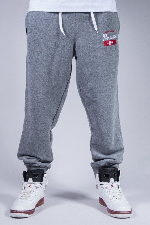 PATRIOTIC SWEATPANTS BASE GREY