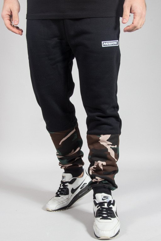 PATRIOTIC SWEATPANTS FUTURA BLACK-CAMO