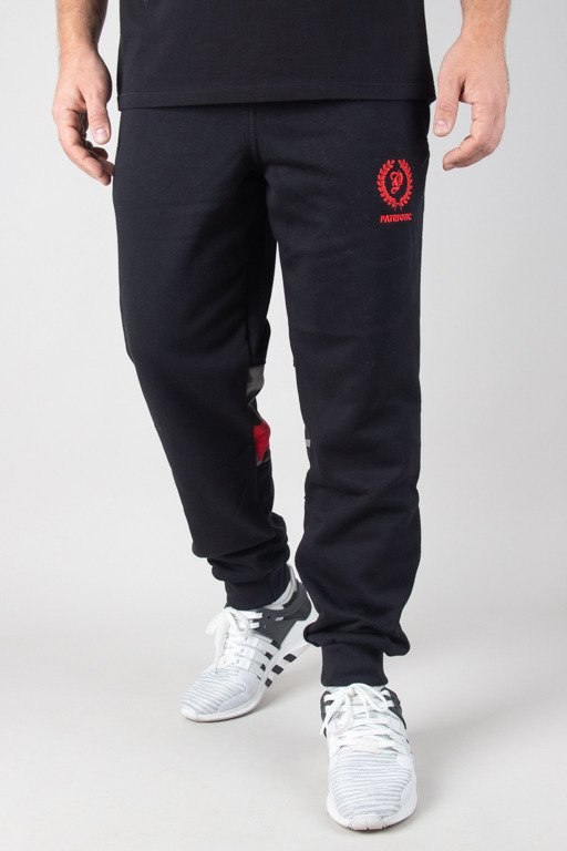 PATRIOTIC SWEATPANTS P LAUR MINI BLACK-CAMO RED
