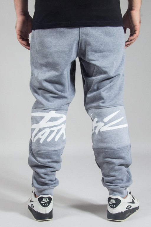 PATRIOTIC SWEATPANTS TAG GREY