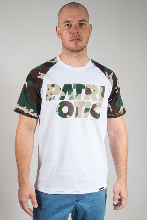 PATRIOTIC T-SHIRT CLS CAMO WHITE