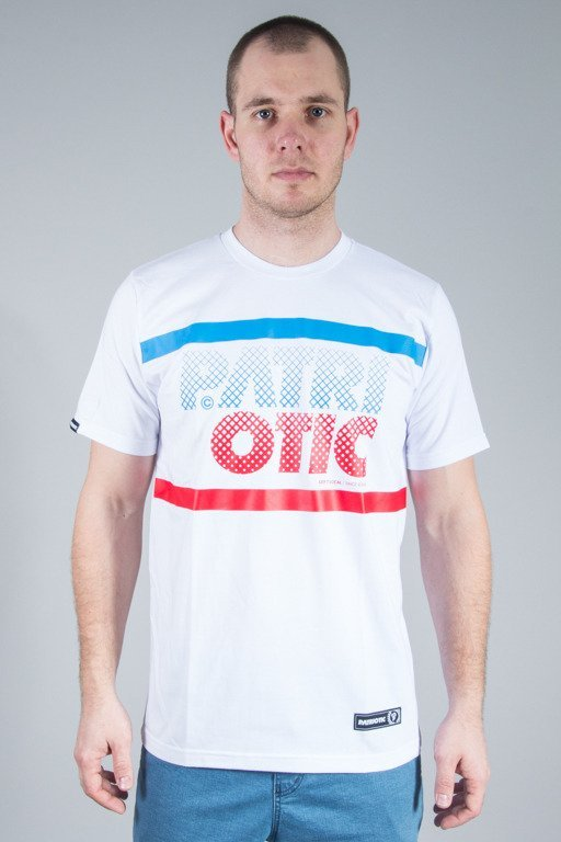 PATRIOTIC T-SHIRT CLS PARTICLES WHITE