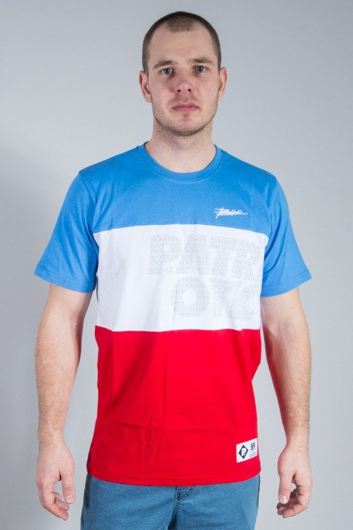 PATRIOTIC T-SHIRT CLS TRIO BLUE-WHITE-RED