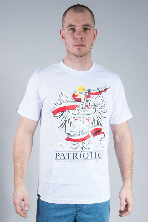PATRIOTIC T-SHIRT GODŁO 2 WHITE