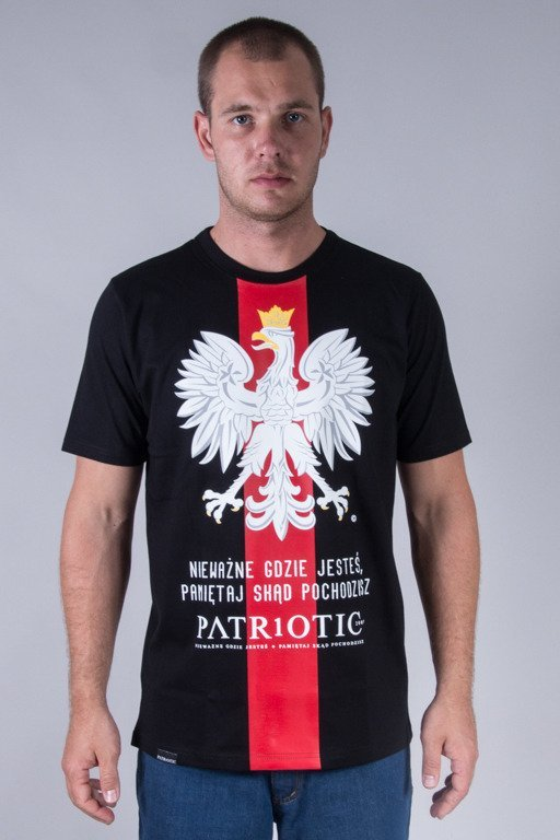 PATRIOTIC T-SHIRT GODŁO BLACK