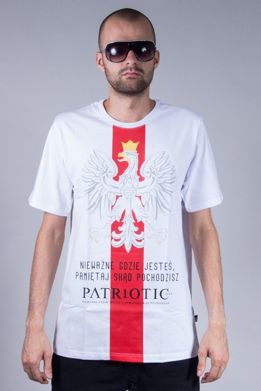 PATRIOTIC T-SHIRT GODŁO WHITE