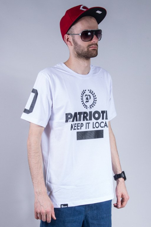 PATRIOTIC T-SHIRT LAUR WHITE