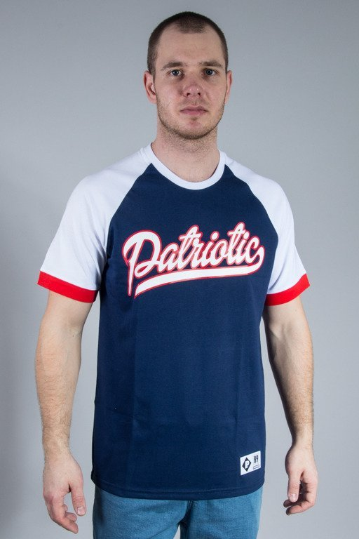PATRIOTIC T-SHIRT RAB TAG NAVY