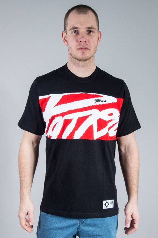 PATRIOTIC T-SHIRT TAG BOX BLACK-RED