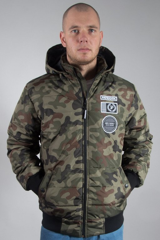 PATRIOTIC WINTER JACKET FUTURA BADGE CAMO