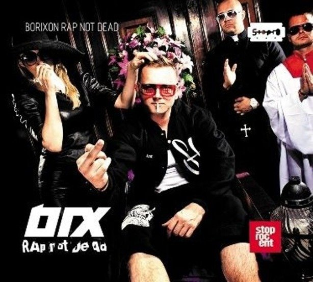 PŁYTA CD BORIXON RAP NOT DEAD