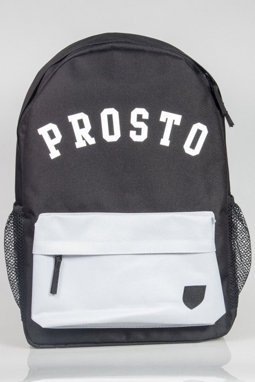 PROSTO BACKPACK STALACTITE BLACK