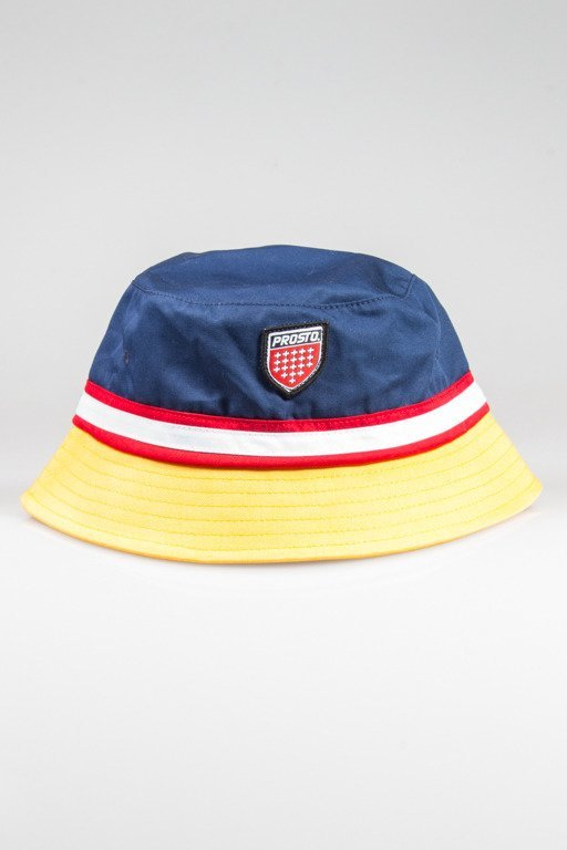 PROSTO BUCKET HAT SUNSHINE NAVY