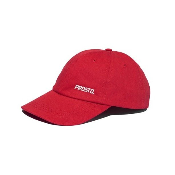PROSTO CAP 6PANEL COVER RED