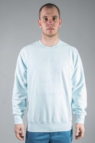 PROSTO CREWNECK 1999 ACID BLUE