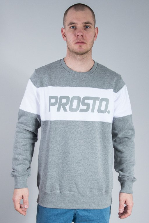 PROSTO CREWNECK ALL ALONG GREY