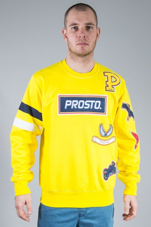 PROSTO CREWNECK FRESH VISION YELLOW