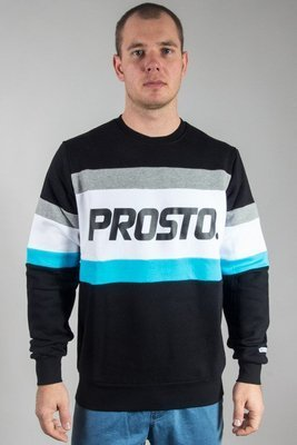 PROSTO CREWNECK LINED BLACK