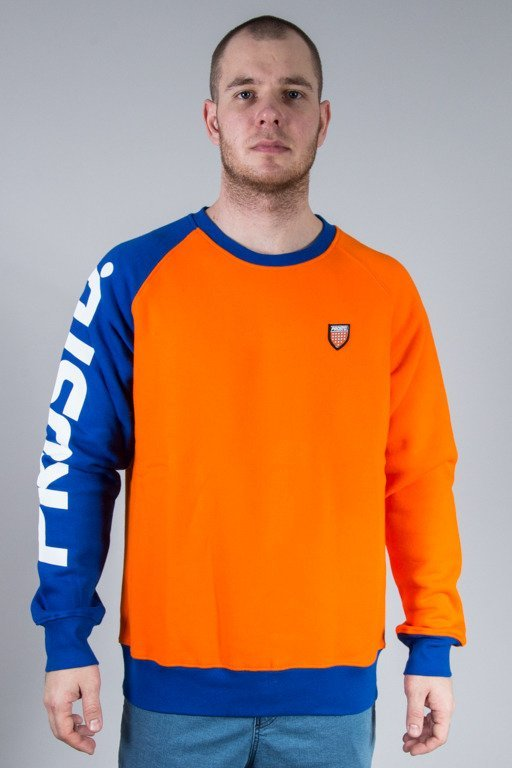 PROSTO CREWNECK ONE HAND ORANGE
