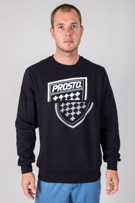 PROSTO CREWNECK SHARPZ BLACK