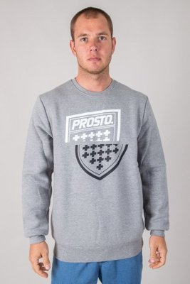 PROSTO CREWNECK SHARPZ GREY