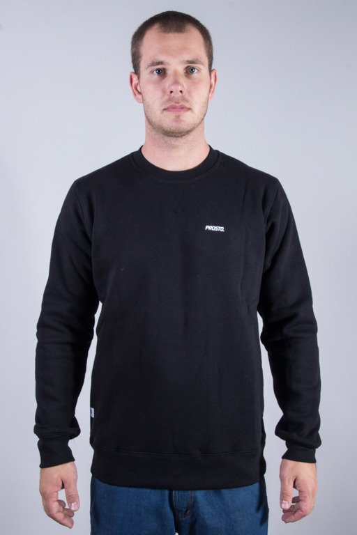PROSTO CREWNECK SIMPLE BLACK