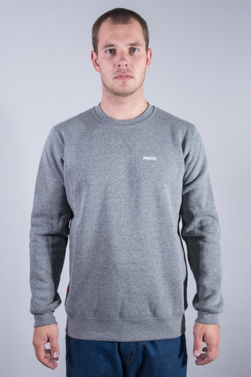 PROSTO CREWNECK SIMPLE GREY