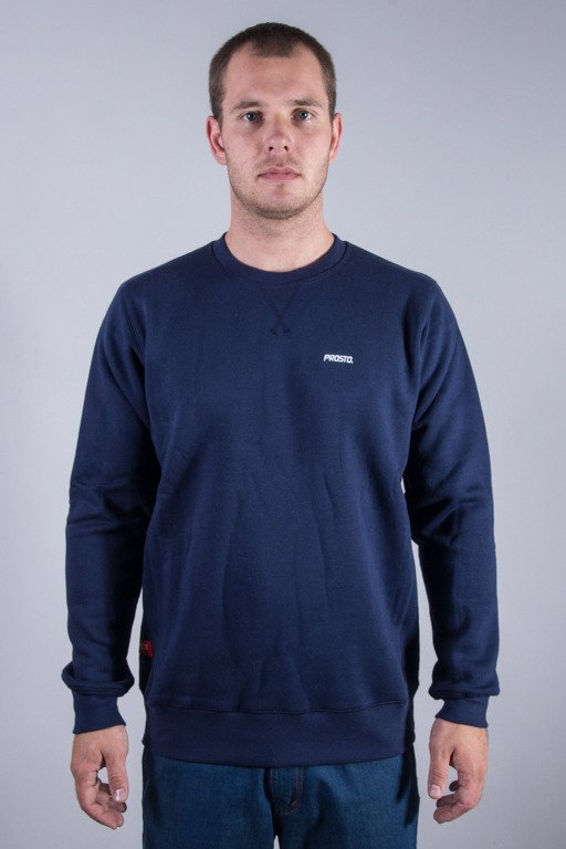 PROSTO CREWNECK SIMPLE NAVY