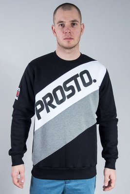 PROSTO CREWNECK TRANSITIONS BLACK
