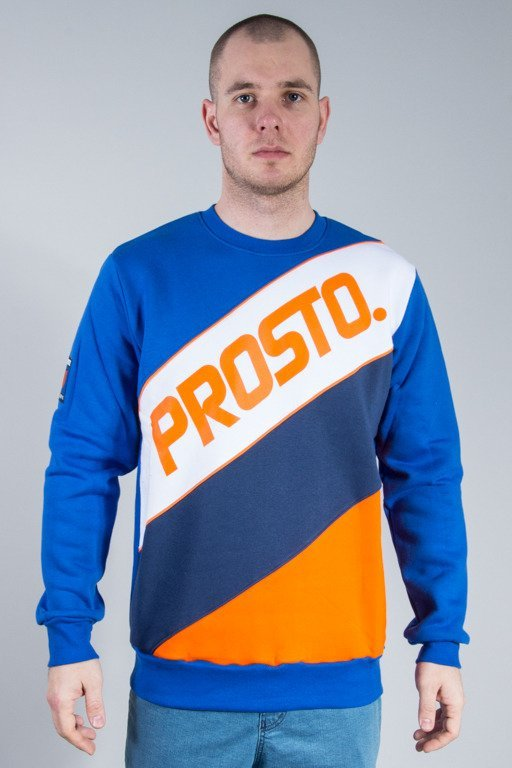 PROSTO CREWNECK TRANSITIONS BLUE