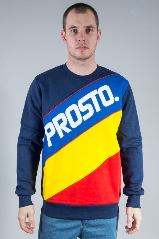 PROSTO CREWNECK TRANSITIONS NAVY