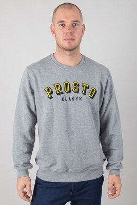 PROSTO CREWNECK VOLUM GREY