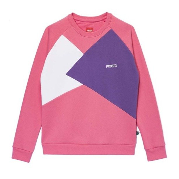 PROSTO CREWNECK WOMAN ANGELS PINK