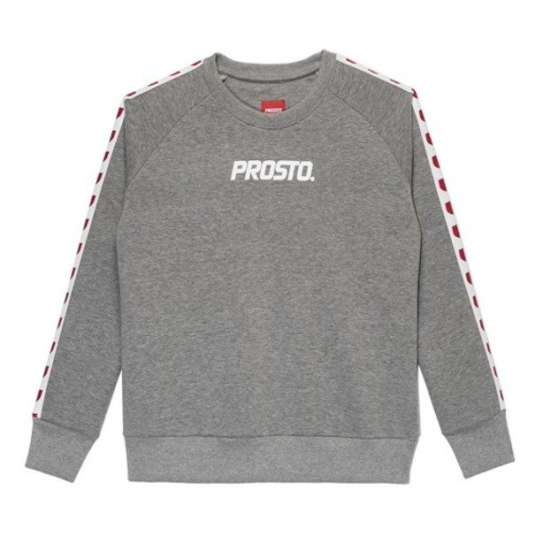 PROSTO CREWNECK WOMAN ARMIE GREY