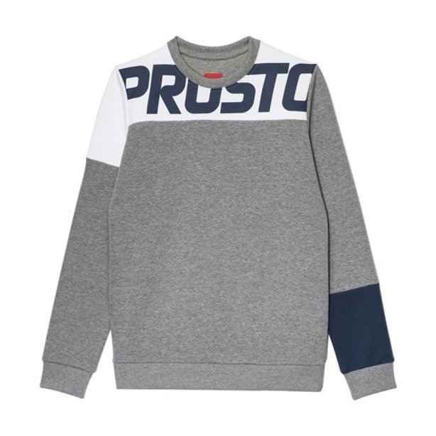PROSTO CREWNECK WOMAN FLOE GREY