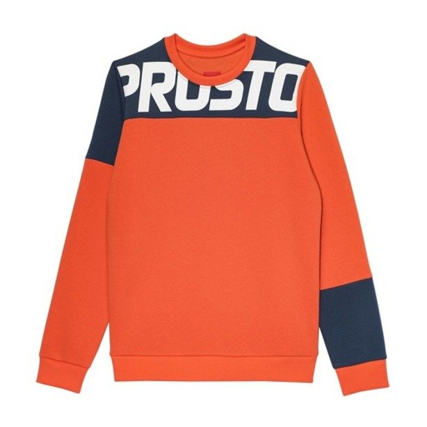 PROSTO CREWNECK WOMAN FLOE RED