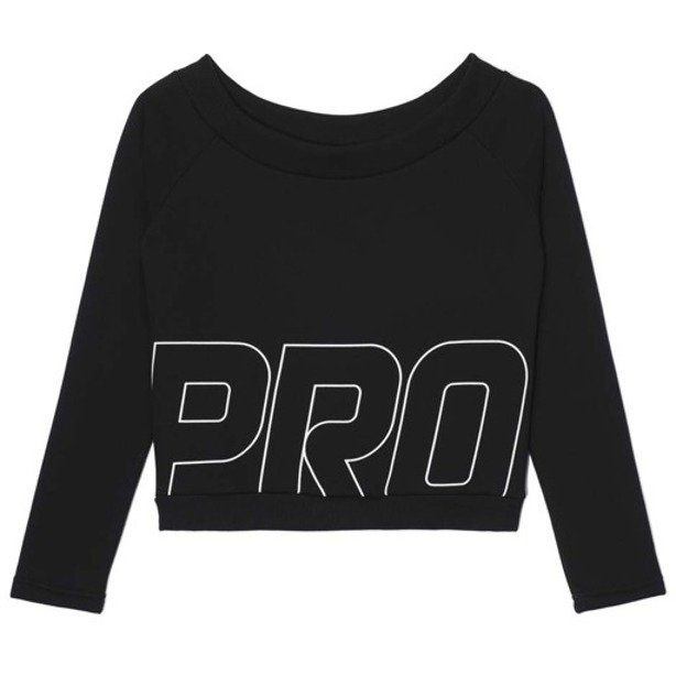 PROSTO CREWNECK WOMAN ICILY BLACK