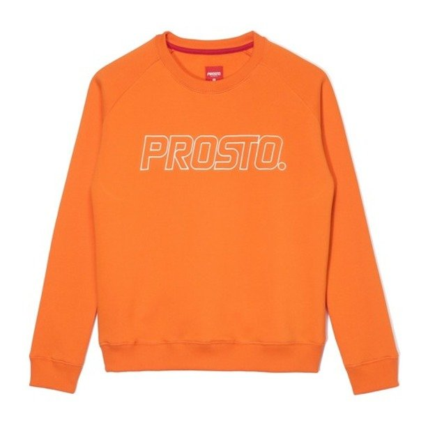 PROSTO CREWNECK WOMAN NOHEAD ORANGE