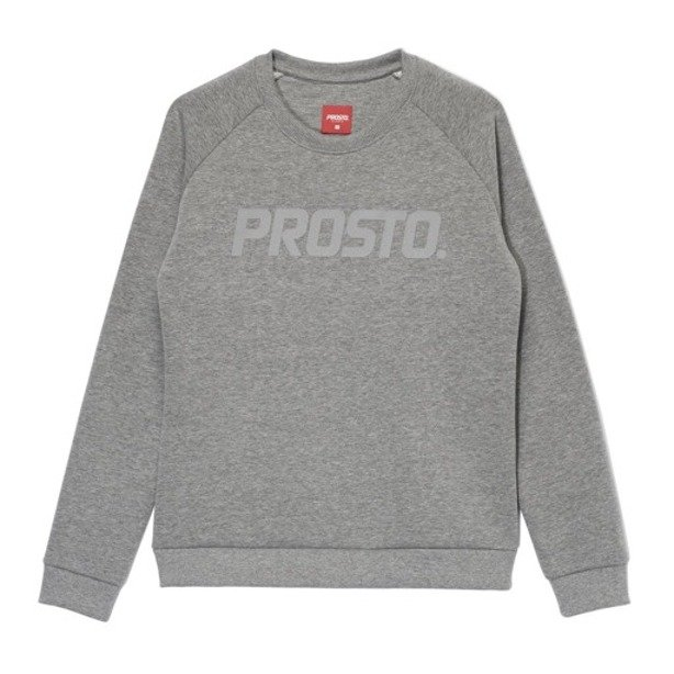 PROSTO CREWNECK WOMAN SHADOW GREY