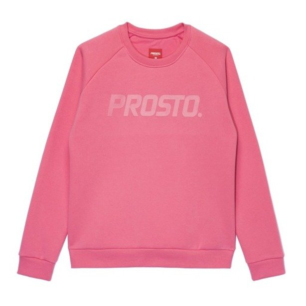 PROSTO CREWNECK WOMAN SHADOW PINK