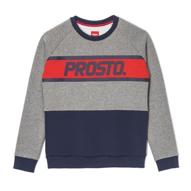PROSTO CREWNECK WOMAN WASP GREY