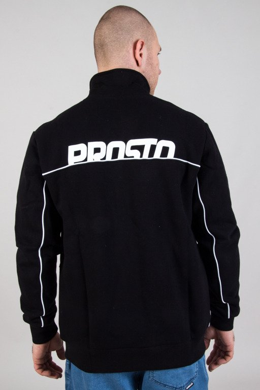 PROSTO CREWNECK ZIP MONKEY BLACK