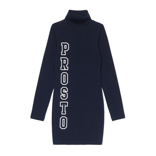 PROSTO DRESS WOMAN LINE NAVY