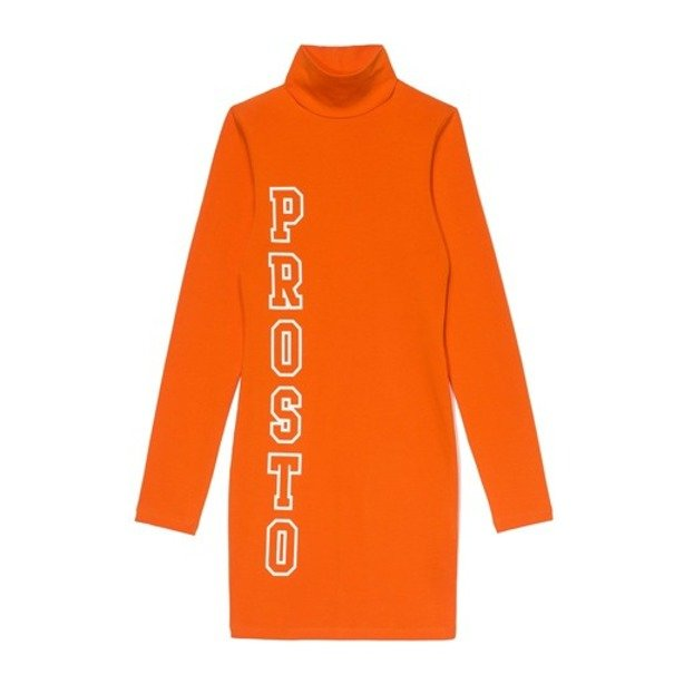 PROSTO DRESS WOMAN LINE ORANGE