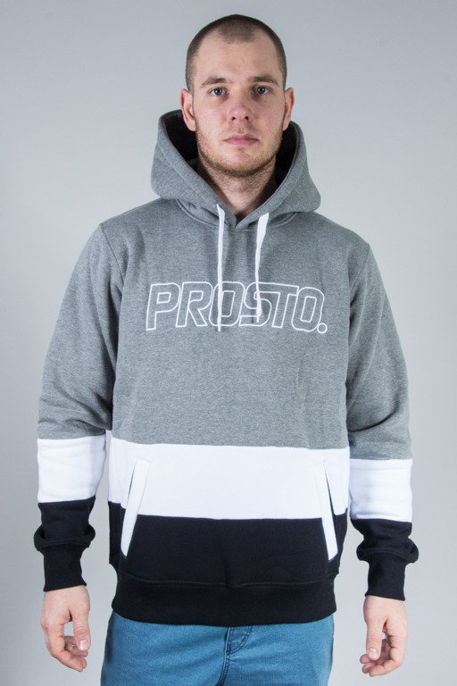 PROSTO HOODIE DOWNSTAIRS GREY