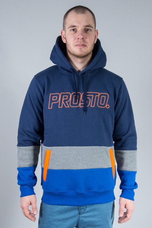 PROSTO HOODIE DOWNSTAIRS NAVY