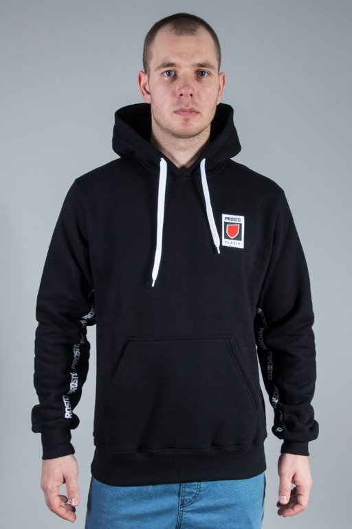 PROSTO HOODIE UNDER THE ARM BLACK