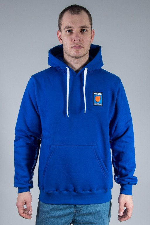 PROSTO HOODIE UNDER THE ARM BLUE
