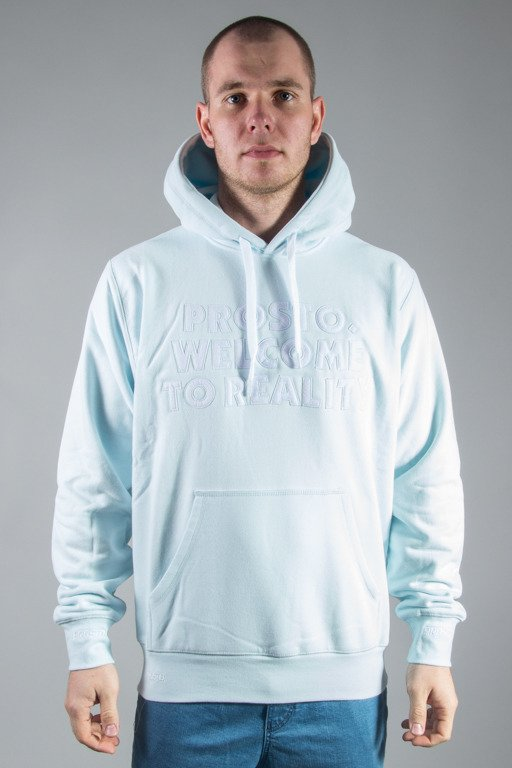 PROSTO HOODIE WELCOME ACID BLUE